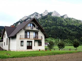 domek przy szlaku na Trzy Korony