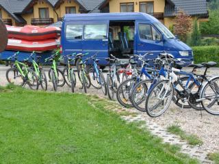 wypożyczlnia rowerów w Sromowcach Niznych