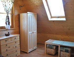 Góralski domek w Pieninach - poddasze Sromowce Nizne