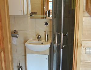 domek myśliwski w Pieninach - łazienka