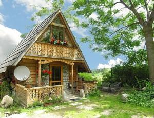 Domek pod Nosalem w Zakopanem - z ogrodem