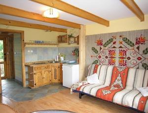 Domek pod Nosalem w Zakopanem - salon z aneksem