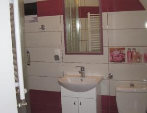 Łazienka przy pokoju.