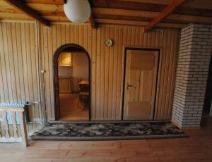 korytarz w domku w Bukowinie