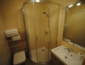 łazienka w domku na Bukowinie Tatrzańskiej
