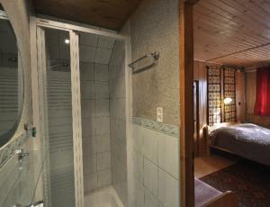 łazienka w domku przy ul. Zamoyskiego