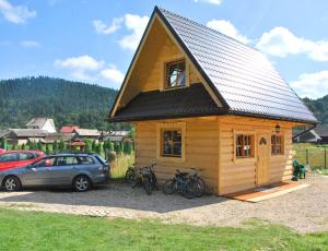 Góralski domek myśliwski w Pieninach