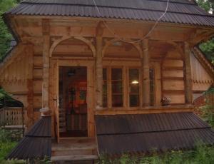 Góralski Domek Zakopane - z zewnątrz