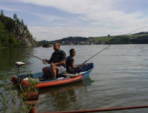 Jezioro Czorsztyńskie spining