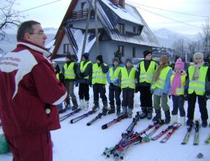 Zajęcia narciarskie Szkoły Slalom