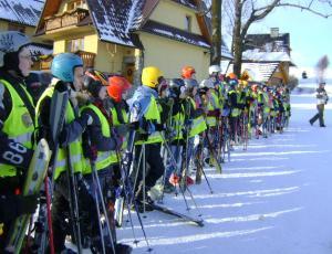 Zajęcia nauki jazdy na nartach Slalom
