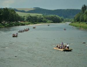 spływ tradycyjny na Dunajcu