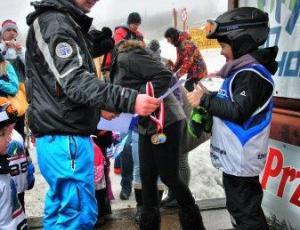 Wręczanie nagród- szkoła Slalom Podstolice