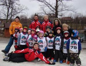 zawodnicy narciarscy
