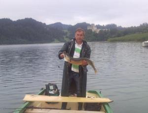 Jezioro Czorsztyńskie szczupak na troling