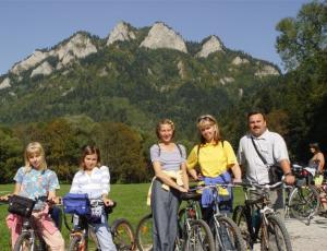 Rowery w Pieninach