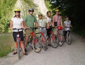 Wycieczka rowerowa nad Dunajcem