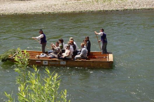 wycieczka na spływie Dunajcem
