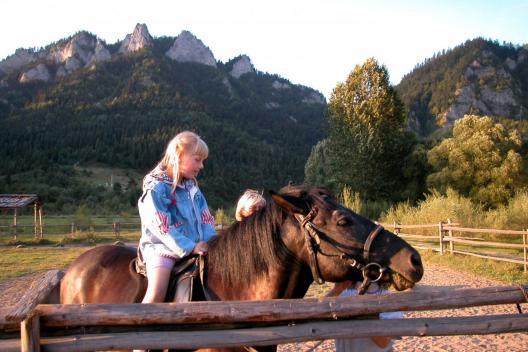 nauka jazdy konnej Sromowce Niżne