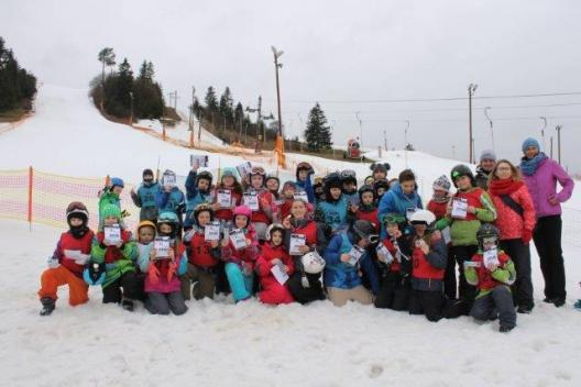 Szkoła Narciarska Zakopane Slalom -grupa dzieci