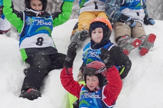 szkółka narciarska przedszkolaki Fun School