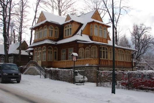domek w centrum Zakopanego