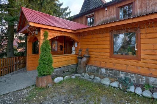 Pensjonat w Bukowinie Tatrzańśkiej wejście