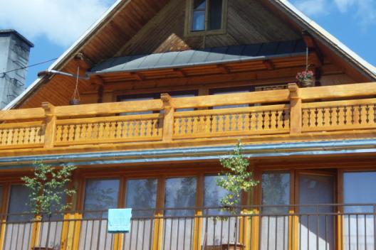 balkon w domku