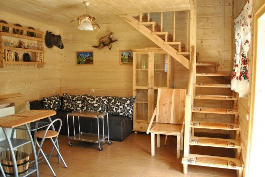 nocleg w domku w Pieninach Sromowce Nizne - salon