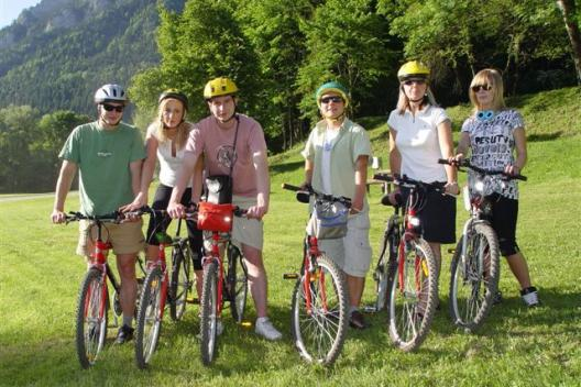 rowerem po Pieninach