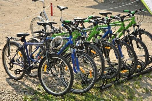 rowery górskie w wypożyczaln Pod pstragiem w Sromowcach